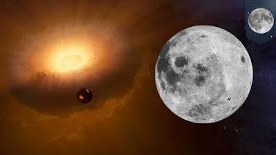 Giải mã quá trình hình thành của Mặt Trăng