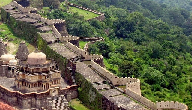 Great-Wall-of-Kumbhalgarh, heritageofindia, Indian Heritage, World Heritage Sites in India, Heritage of India, Heritage India