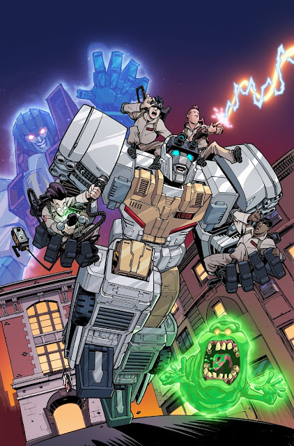 idw transformers ghostbusters crossover
