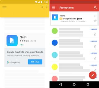 Anuncio app display
