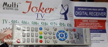 cara jitu setting manual remote tv multy joker rm99 tehnomac
