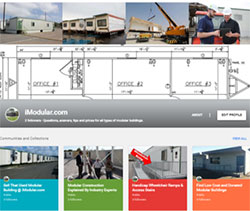 Used modular building for sale on Google Plus