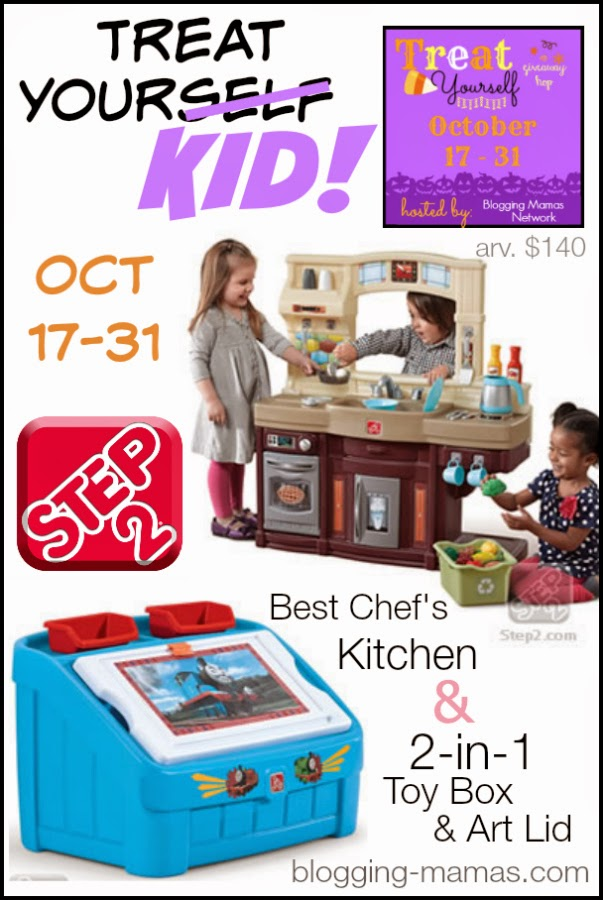 http://blogging-mamas.com/2014/10/treatyourself-kiddo-step2-grand-prize-giveaway/