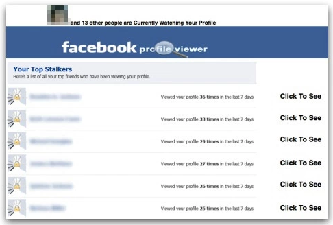 Facebook Profile Viewer App