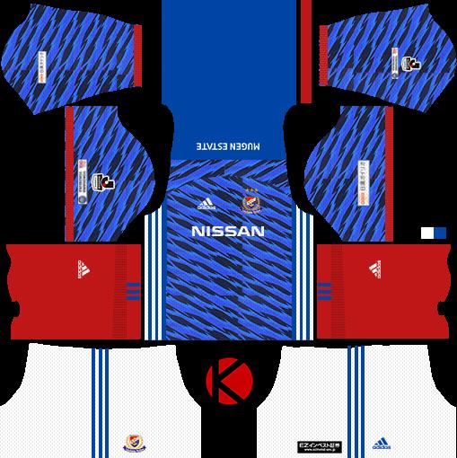 35cd408c20d Yokohama F. Marinos 横浜F・マリノス kits 2017 - Dream League Soccer ...