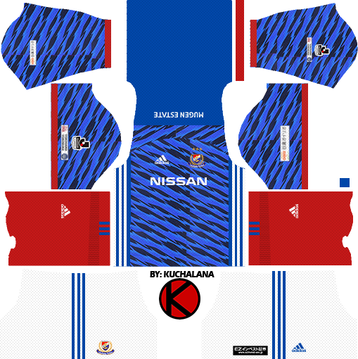Yokohama F. Marinos 横浜F・マリノス kits 2017 - Dream League Soccer