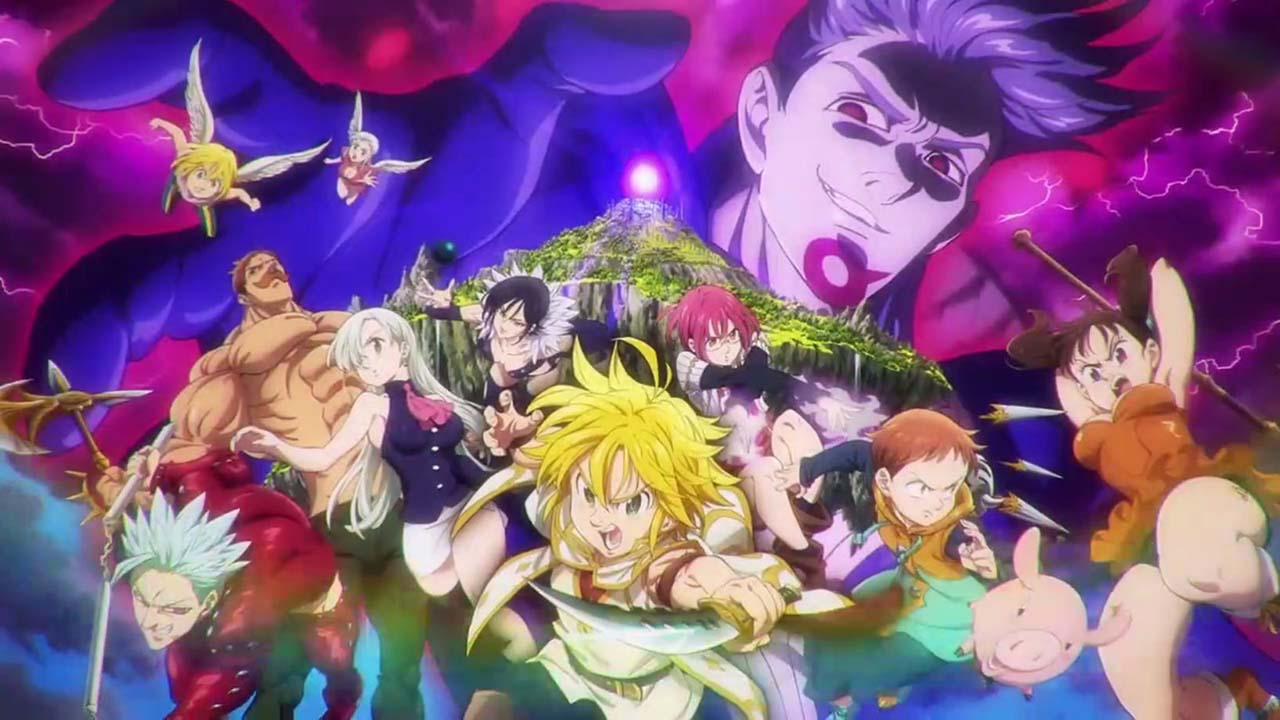Nanatsu no Taizai Movie - Tenkuu no Torawarebito Subtitle Indonesia