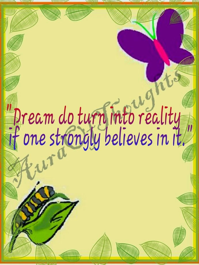 Dream into Reality - Aura Of thoughts