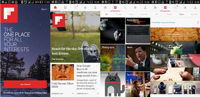 Flipboard - Aplikasi Baca Berita Pilihan di Android