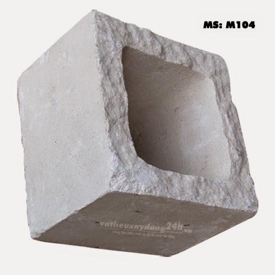 Gạch block xây tường M-104