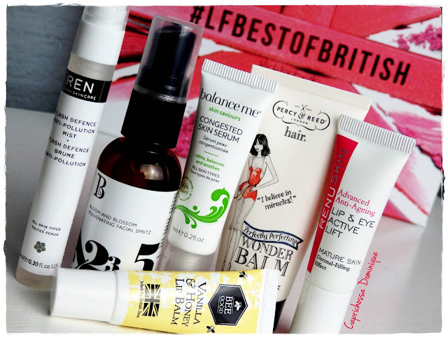 Beauty Box de Agosto! - LookFantastic #LFBestOfBritish