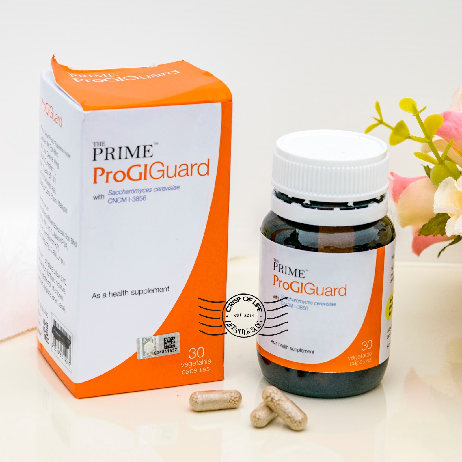 Prime ProGIGuard - The New Yeast Probiotic For Your Sensitive Stomach (Irritable Bowel Syndrome)