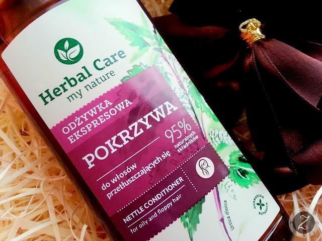 Odżywka ekspresowa Herbal Care, Farmona do włosów przetłuszczających się POKRZYWA