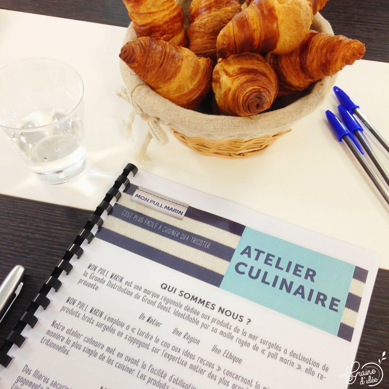 Mon Pull Marin, Découverte et Atelier Culinaire - Une Graine d'Idée