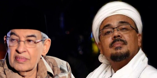 Prof. Quraish Shihab dan Habib Rizieq Shihab