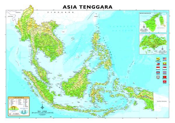 SENARAI NEGARA DI ASIA TENGGARA