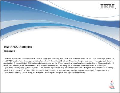 โหลด IBM SPSS 24 ตัวเต็ม Crack