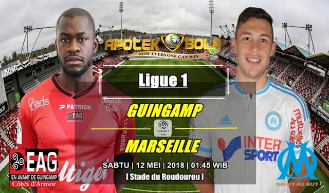 Prediksi Guingamp Vs Olympique Marseille 12 Mei 2018