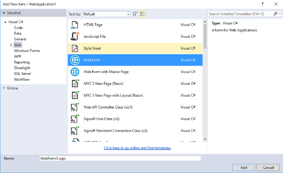 DOTNET: How to create crystal Reports with MVC