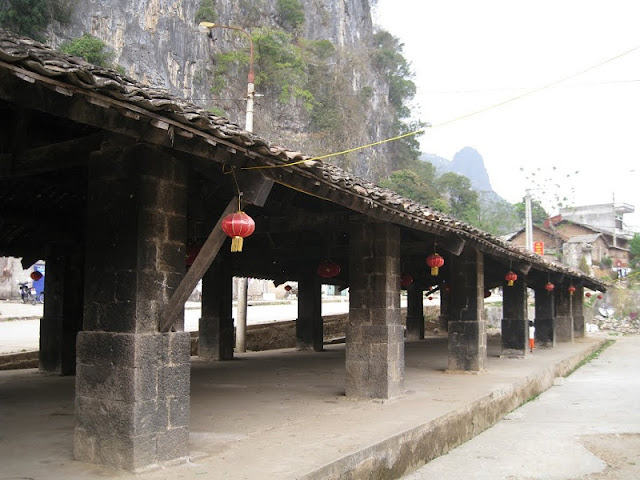 Dong Van Old Town - ancient features between the rocky plateau 2