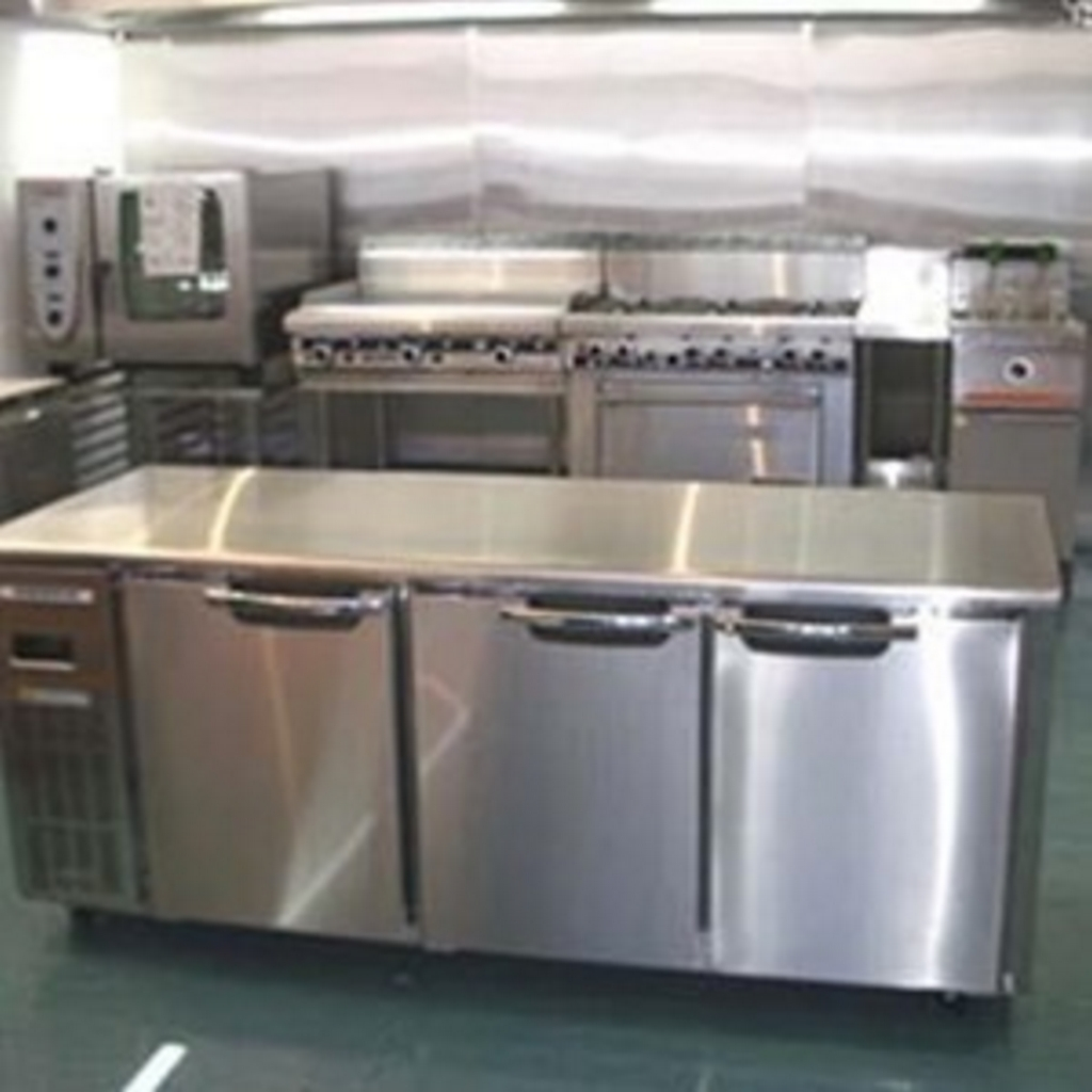 kitchen set dari stainless steel 4
