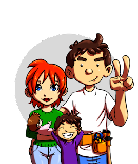 Un avatar pour le blog Maman pouponne Papa bricole