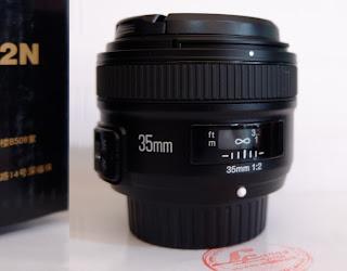 Lensa Fix Yongnuo AF-S 35mm f/2 For Nikon