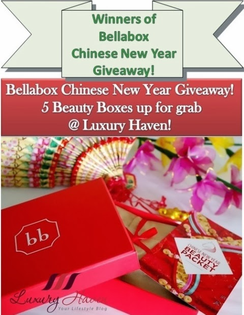 winners of cny bellabox giveaway