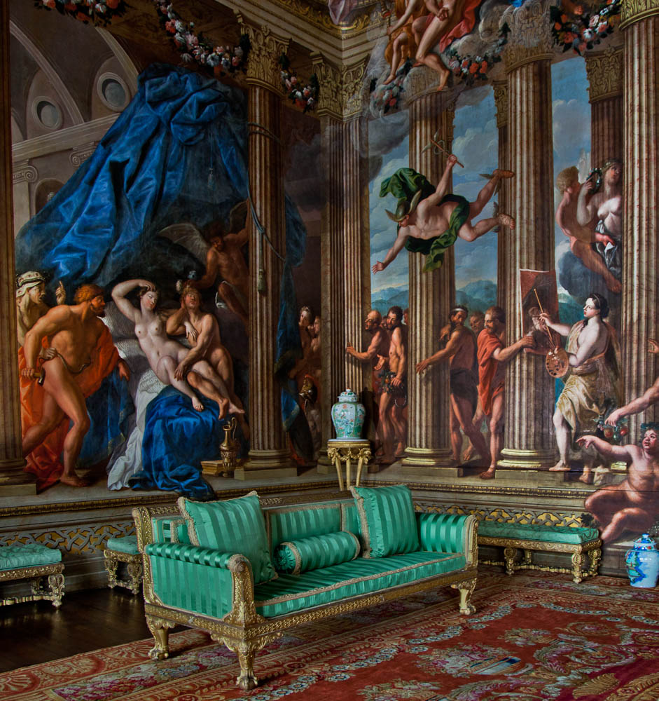 Ann Miles Blog: Burghley House Interior