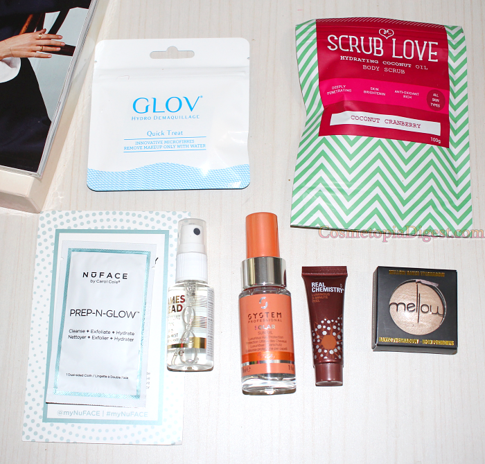 LookFantastic Get The Glow Beauty Box May 2017 Review and Unboxing