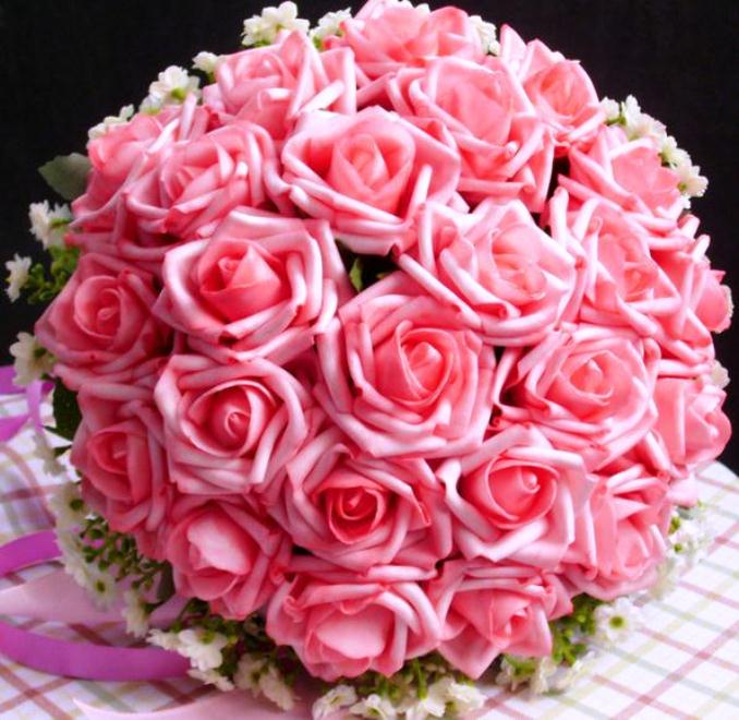 Buket Bunga Pengantin_Bunga Pernikahan Cantik Dan Indah 201701
