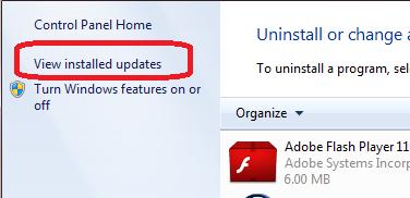 Uninstall Internet Explorer 10 In Windows 7
