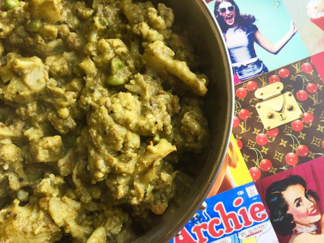 Chutney wale CauliflowerCurries & Gravies