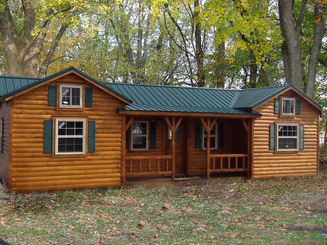 TINY HOUSE TOWN: Amish Cabin Company Kits, Starting At $16,350