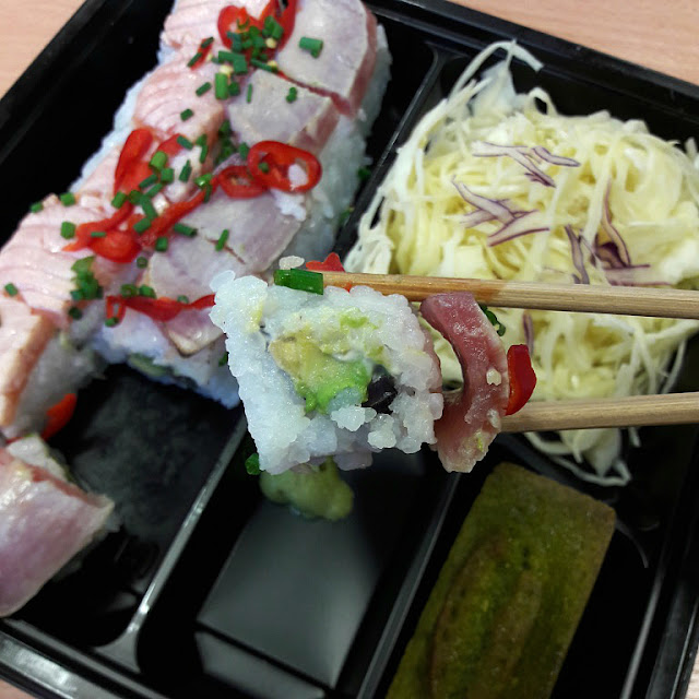Bento Matsuri cuisine japonaise california maki food yummy