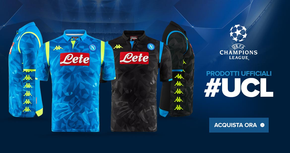 arrives b5ad6 651a8 Napoli 18-19 Champions League Kits Released - Footy Headlines