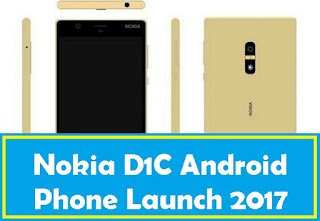 Nokia New Smartphone D1C Full Specification And Leaked Images