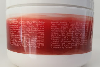 InstaNatural Argan Oil Hair Mask Ingredients