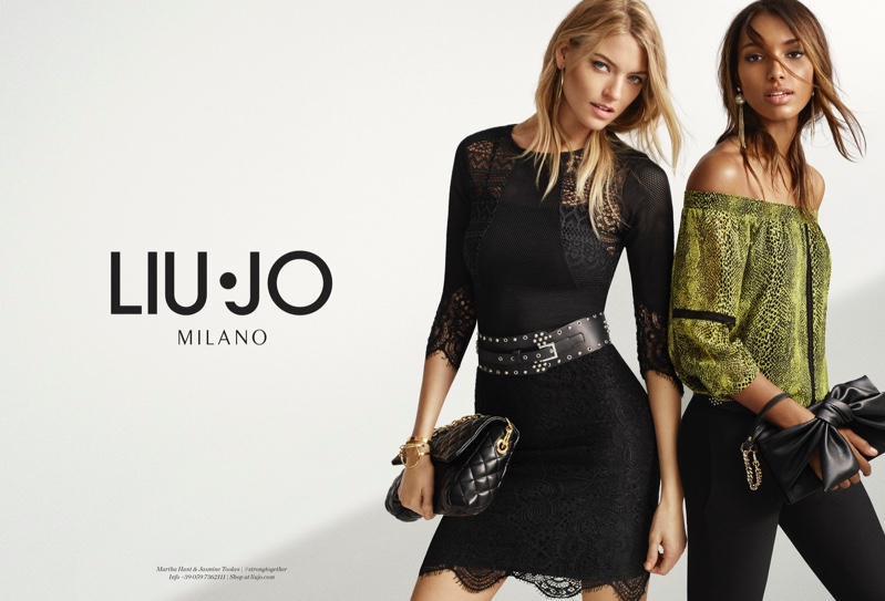 Liu Jo's Spring 2017 Campaign