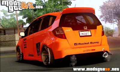 Honda Fit Rocket Bunny 2009