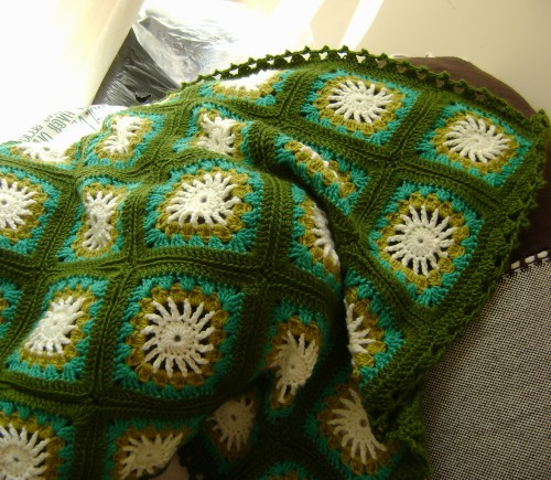 Santa Rosa Throw - Free Pattern