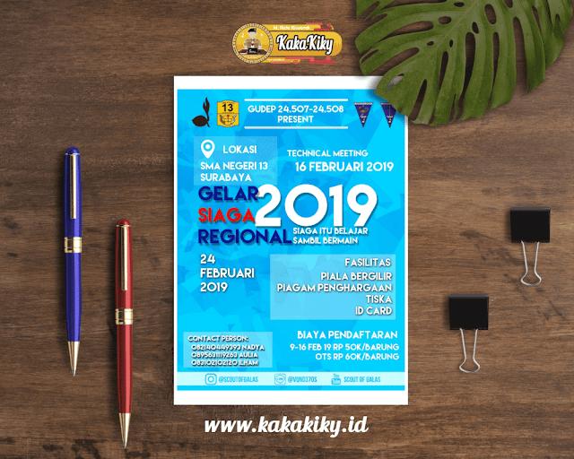 Event Lomba Pramuka - Gelar Siaga Regional 2019