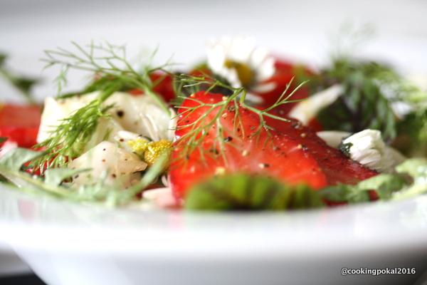 Erdbeer Fenchel Wildkräuter