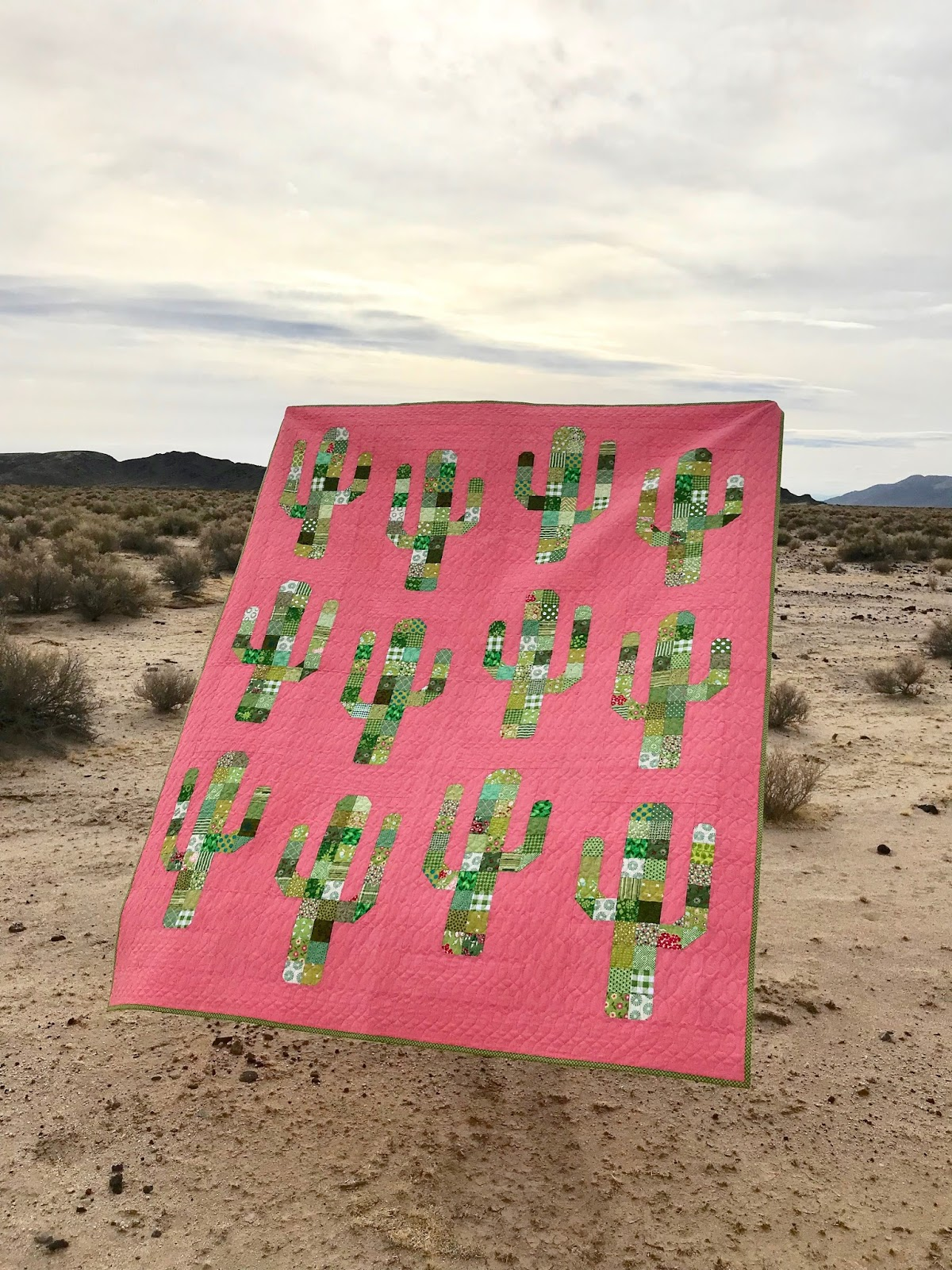 Kairle Oaks Handcrafted Goodness Saguaro Quilt Tutorial