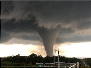 Picture of tornado in Oklahoma