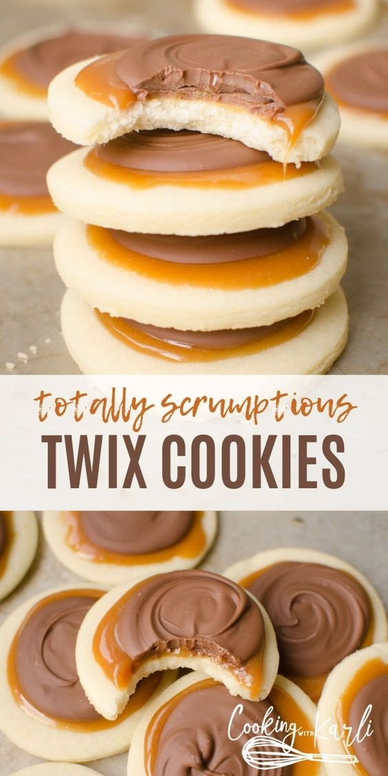 Twix Cookie Cups