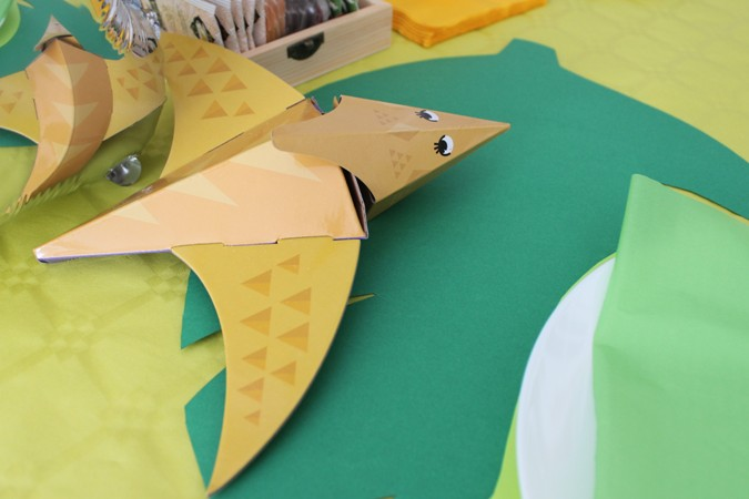 fiesta de cumpleaños infantil - dinosaurios