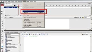 actionscript 3 di adobe flash cs3 test movie