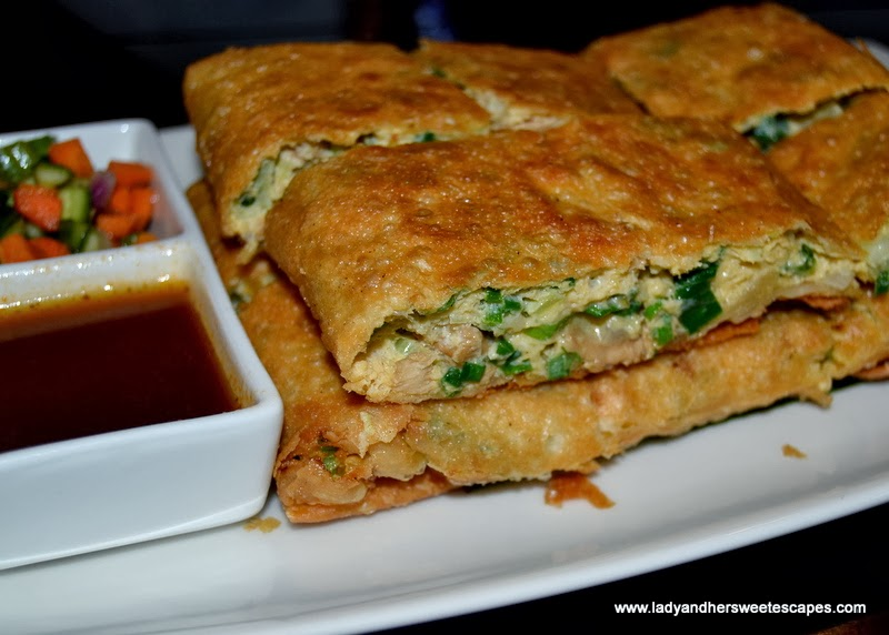 Wok It restaurant's Martabak Telor