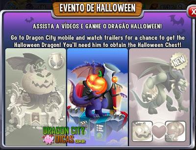 Ganhe o Dragão Halloween - Evento de Halloween!